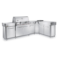 Gasgrills: Weber-Grill - Summit Grill-Center GBS Edelstahl Art.-Nr.293079
